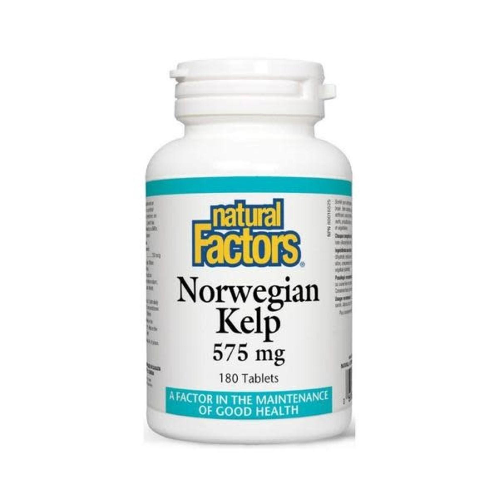 Natural Factors Natural Factors Norwegian Kelp 180 tabs