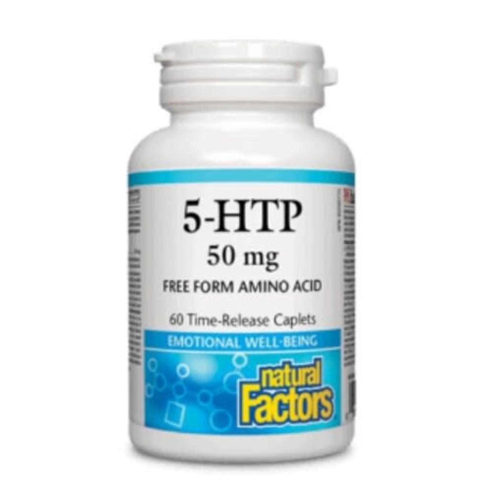 Natural Factors Natural Factors 5-HTP 50mg 60 caps