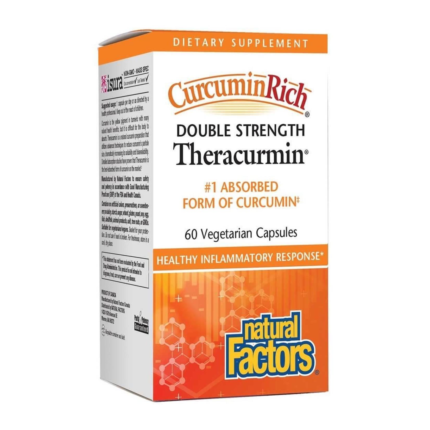 Natural Factors Natural Factors Double Strength Theracurmin 60 caps