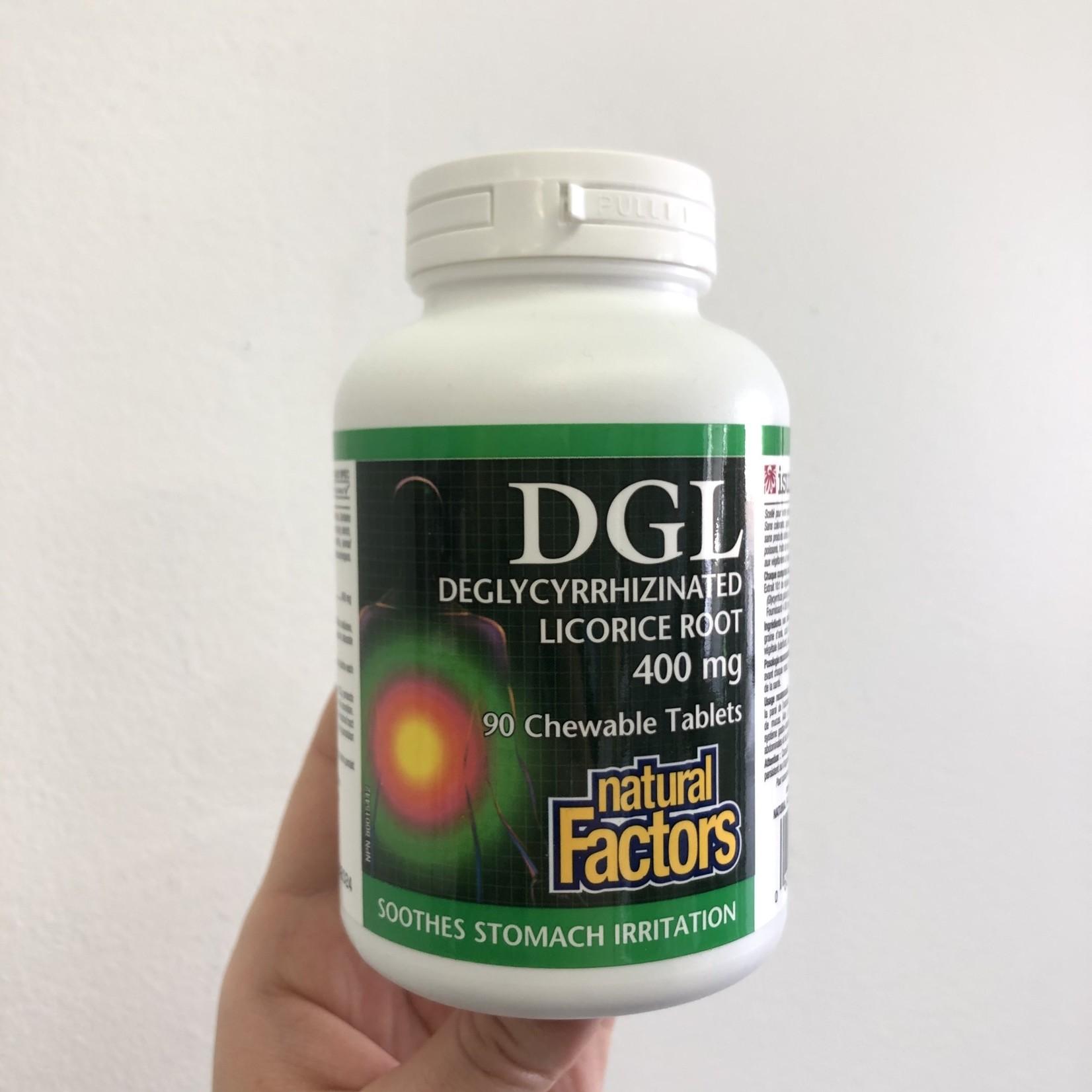Natural Factors Natural Factors DGL 400mg 90 tabs