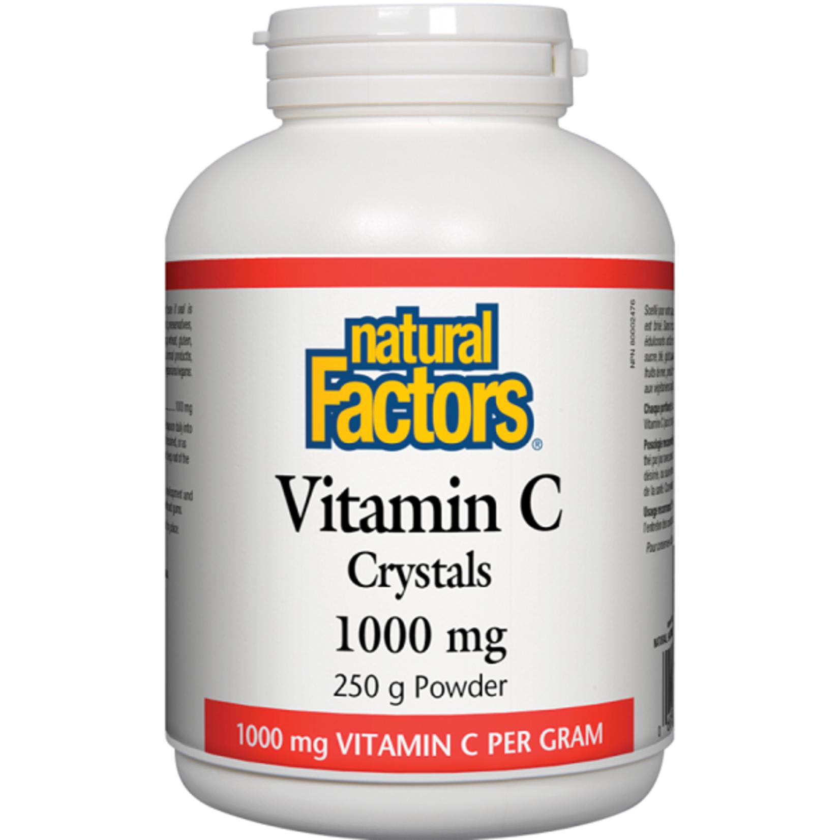 Natural Factors Natural Factors Vitamin C Crystals 1000mg 250g powder