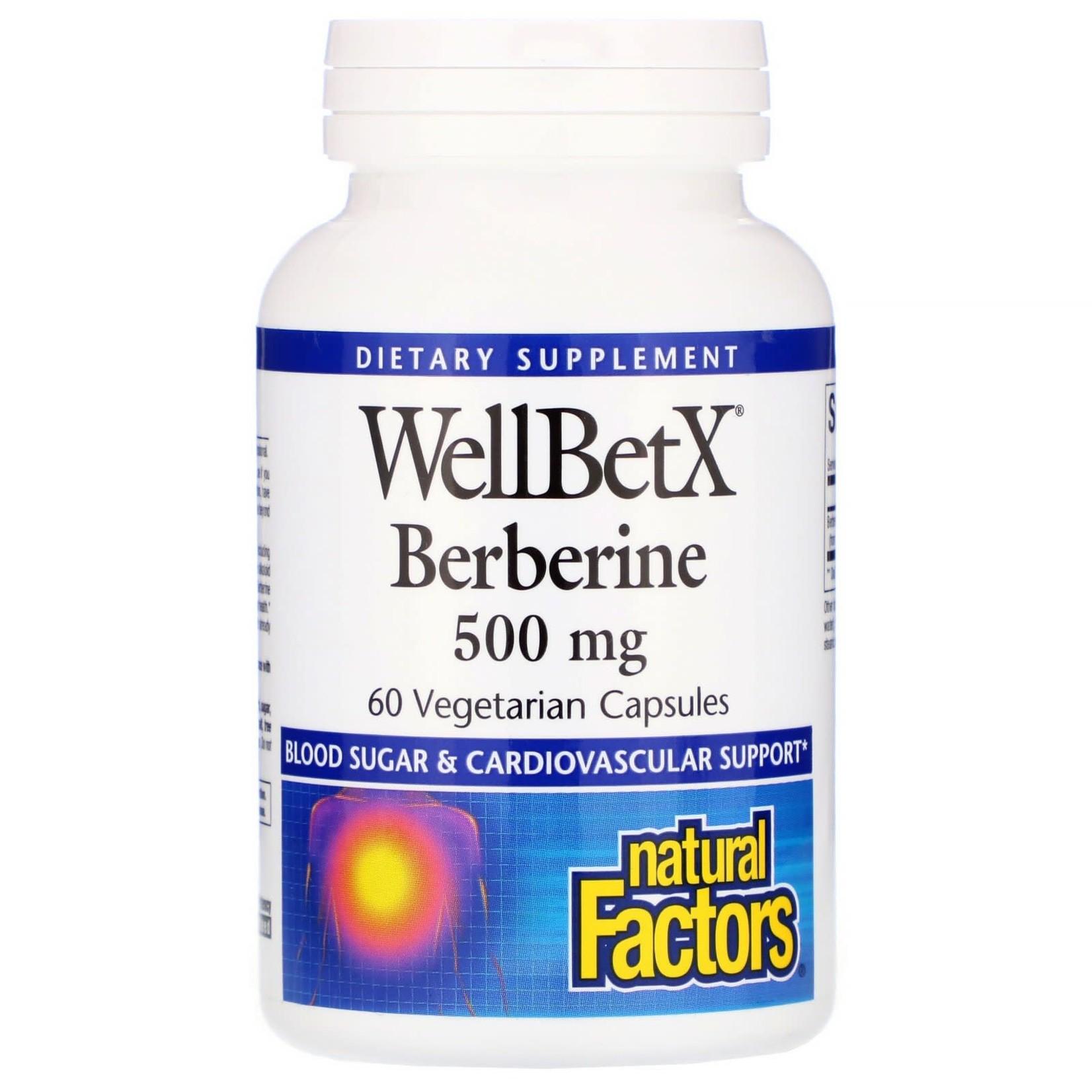 Natural Factors Natural Factors Berberine 500mg 60 caps