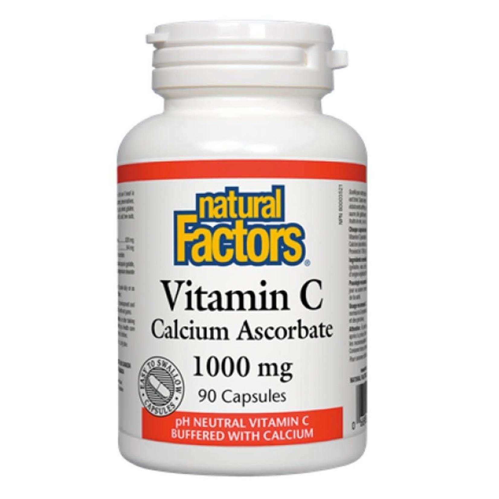 Natural Factors Natural Factors Vitamin C Calcium Ascorbate 1000mg 90 caps