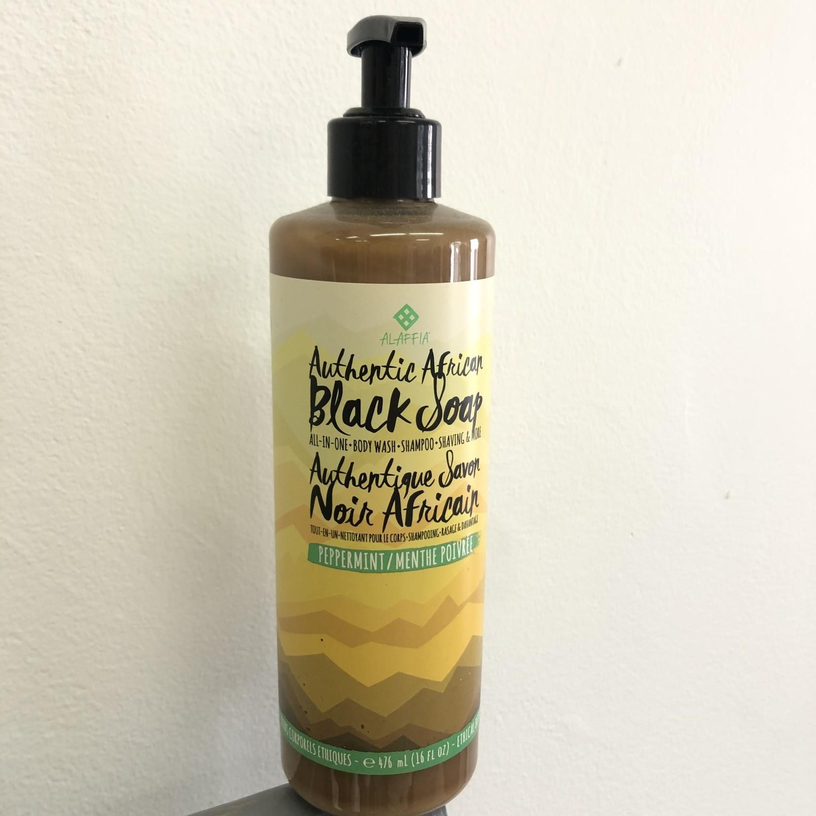 Alaffia Alaffia Peppermint Black Soap 476ml