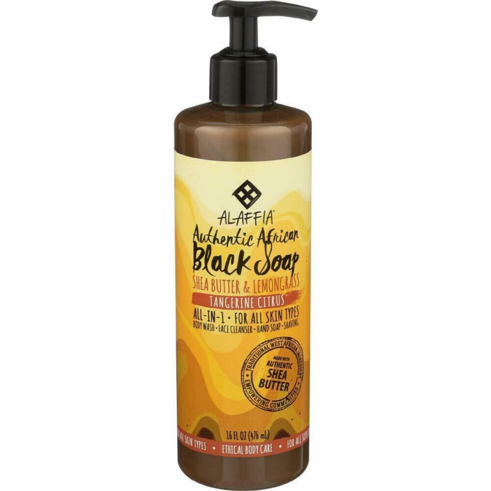 Alaffia Alaffia Tangerine Black Soap 473ml