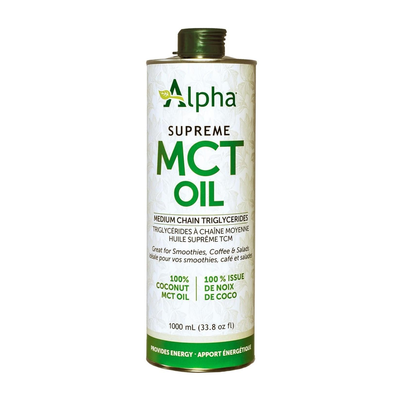 Alpha Alpha Supreme MCT Oil 1000ml