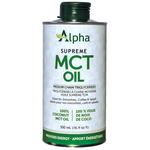 Alpha Alpha Supreme MCT Oil 500ml