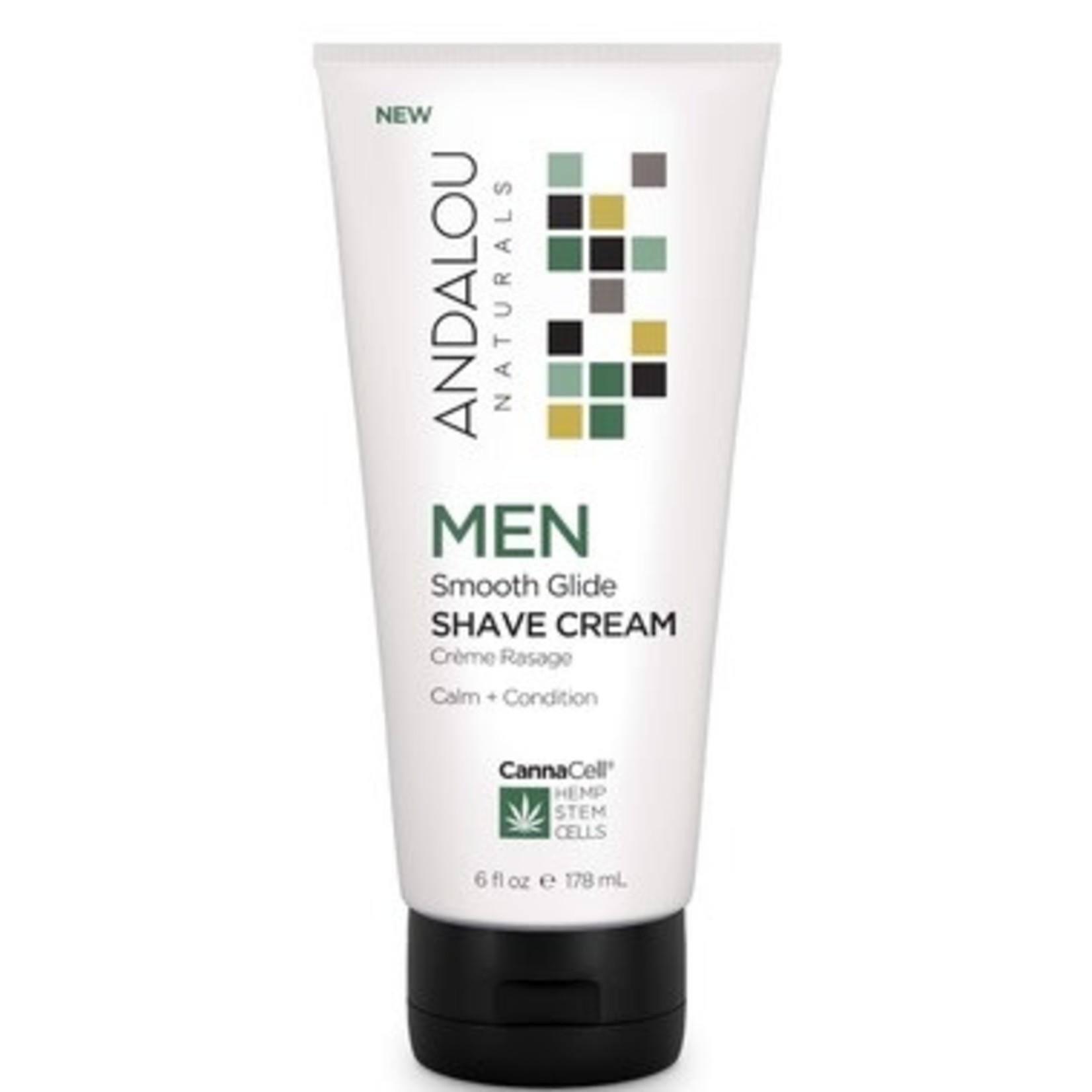Andalou Andalou Men Shave Cream 178ml