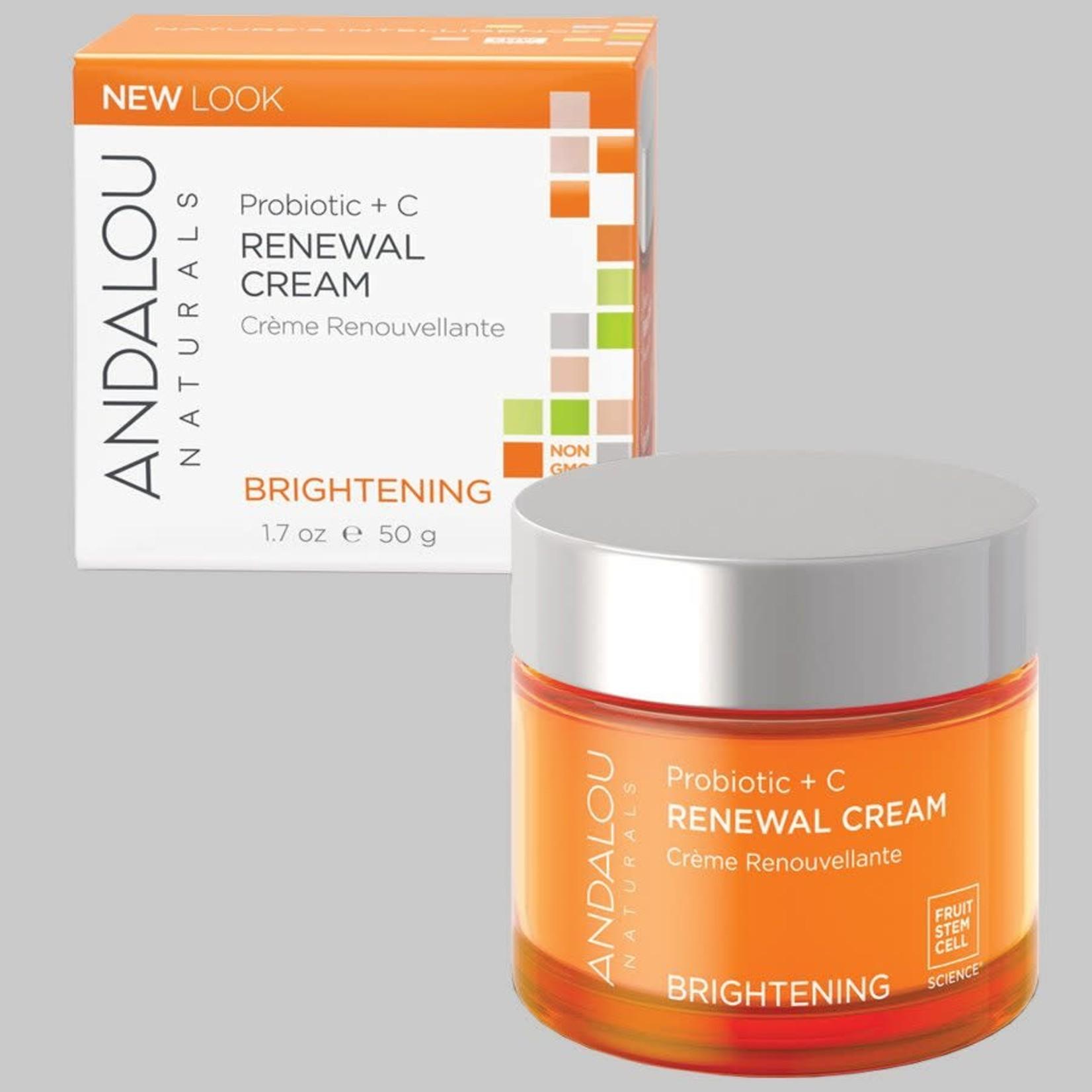 Andalou Andalou Probiotic + C Renewal Cream