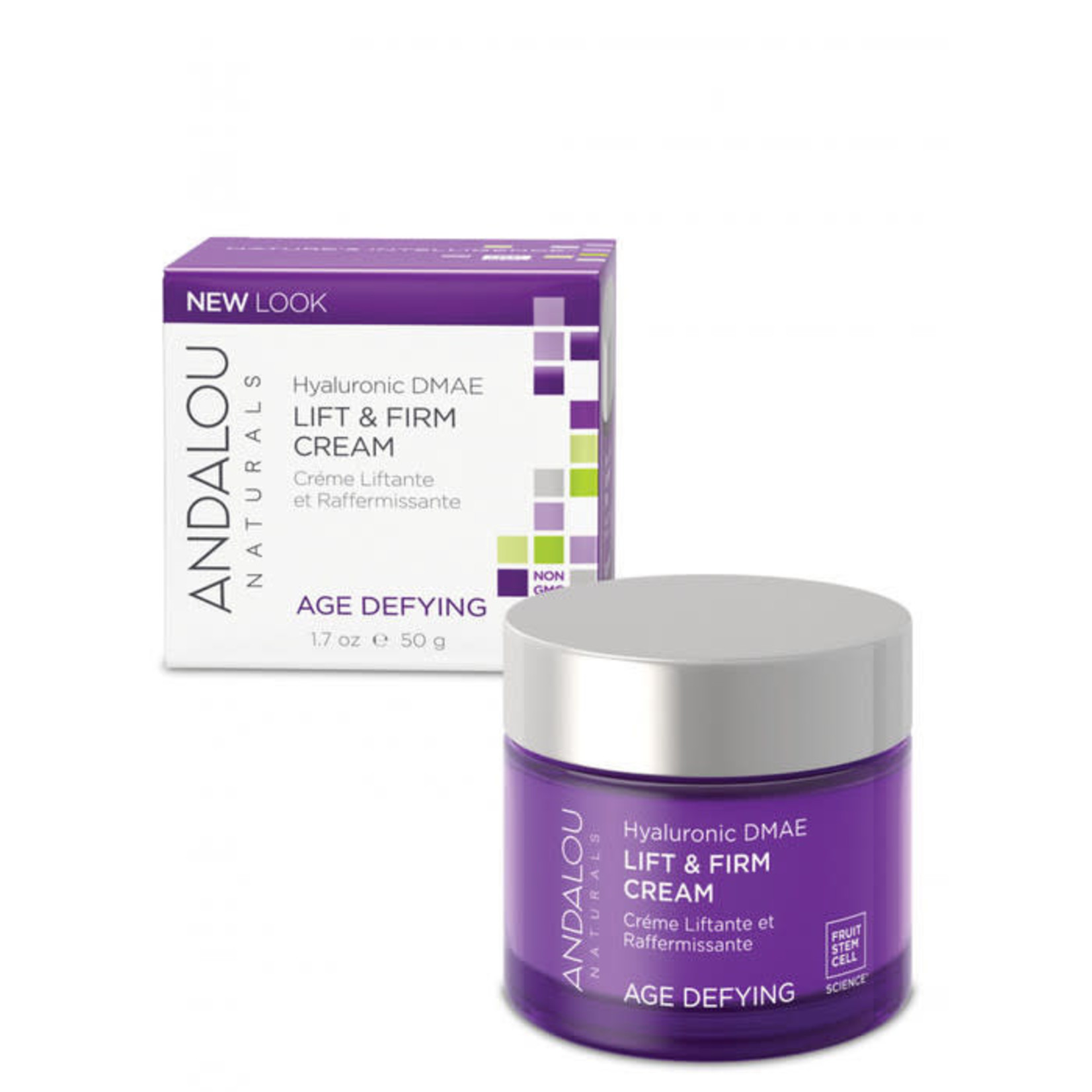 Andalou Andalou Hyaluronic DMAE Lift & Firm Cream Age Defying