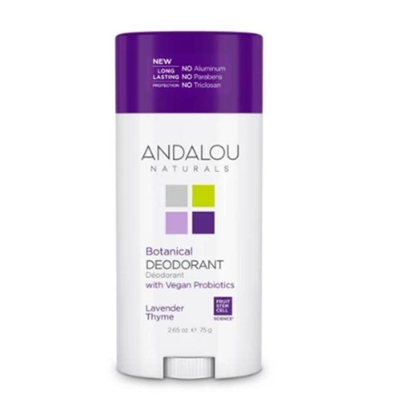 Andalou Andalou Lavender Thyme Botanical Deodorant