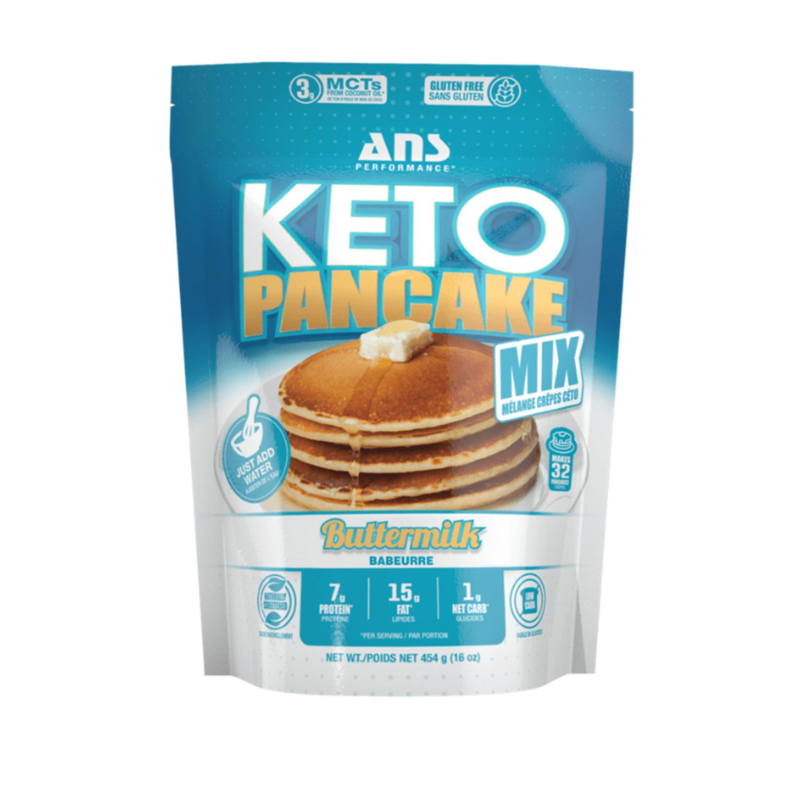 ANS ANS Keto Pancake Mix Buttermilk 454g