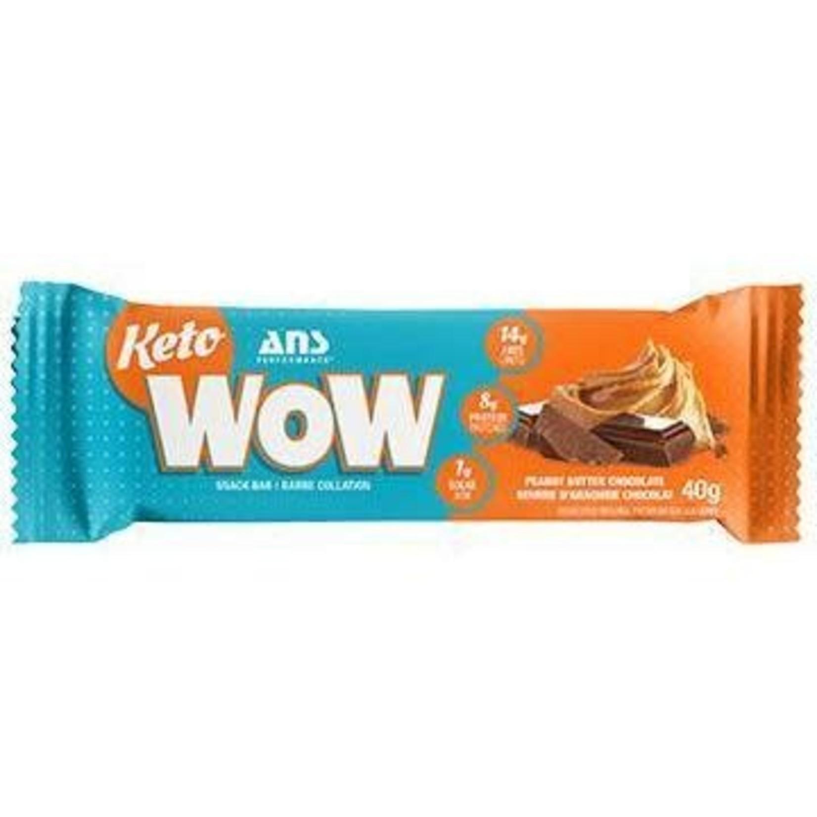 ANS ANS Keto WOW Peanut Butter Chocolate Bar