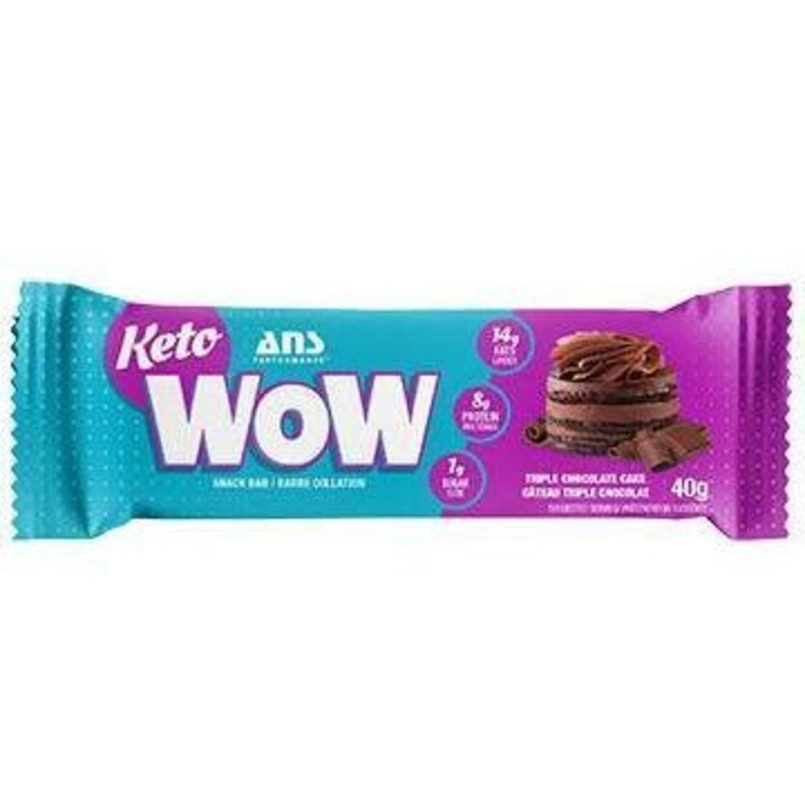 ANS ANS Keto WOW Triple Chocolate Cake Bar