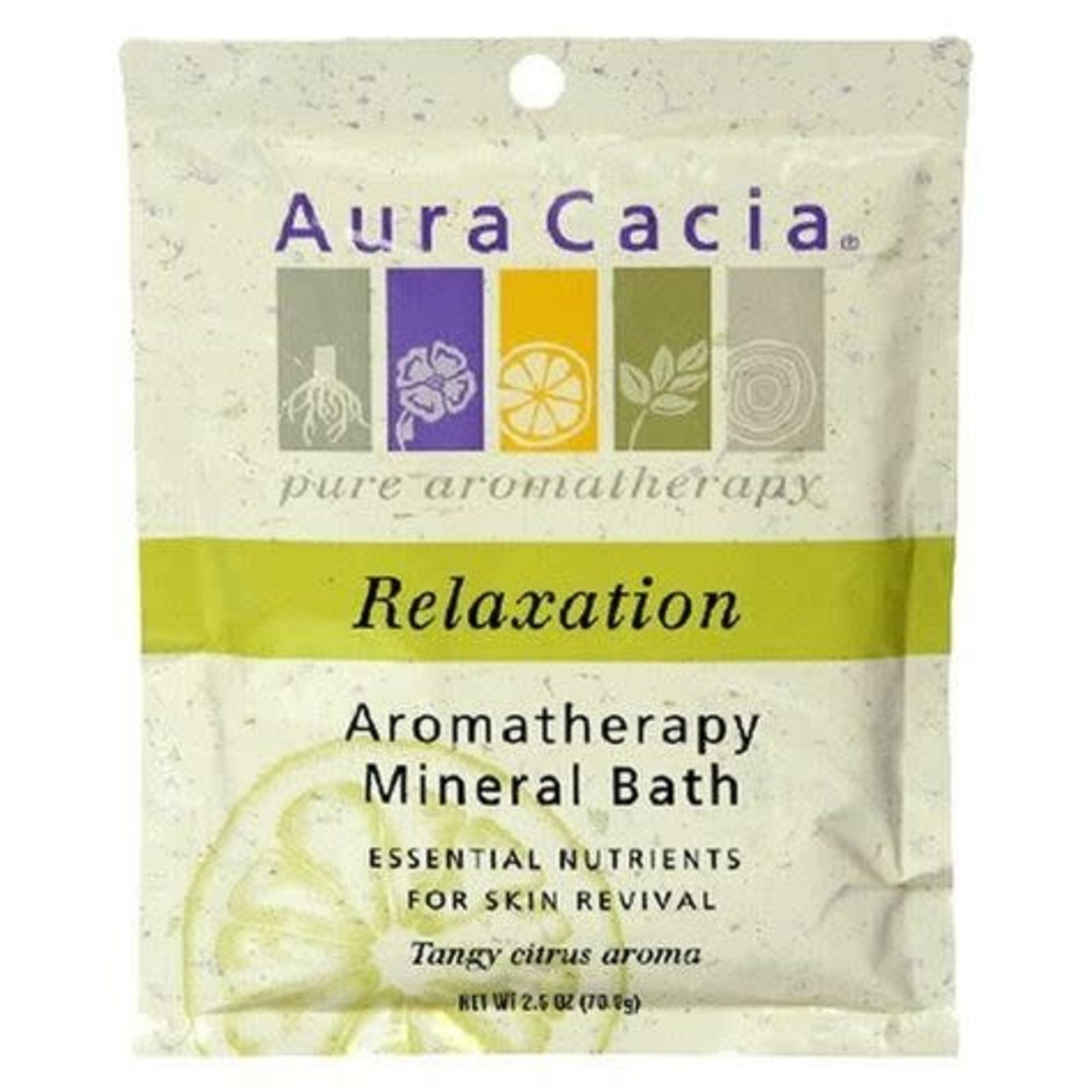 Aura Cacia Aura Cacia Tangy Citrus Relaxation Mineral Bath