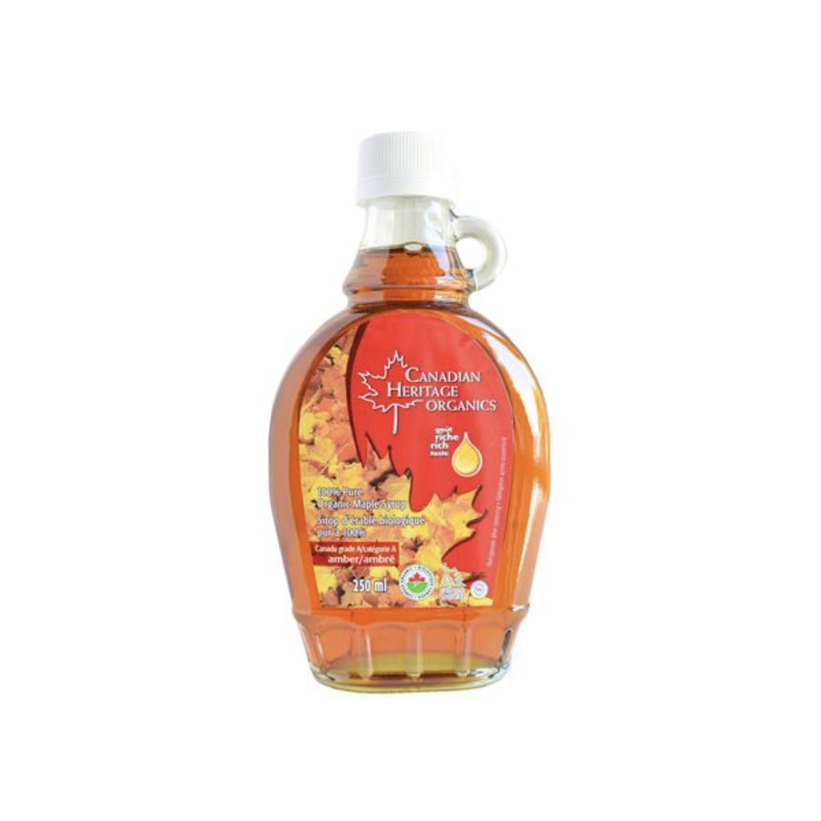 Canadian Heritage Organics Canadian Heritage 100% Pure Amber Maple Syrup