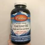Carlson Carlson Cod Liver Oil 300 softgels