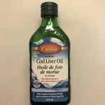Carlson Carlson Cod Liver Oil Unflavoured 250ml