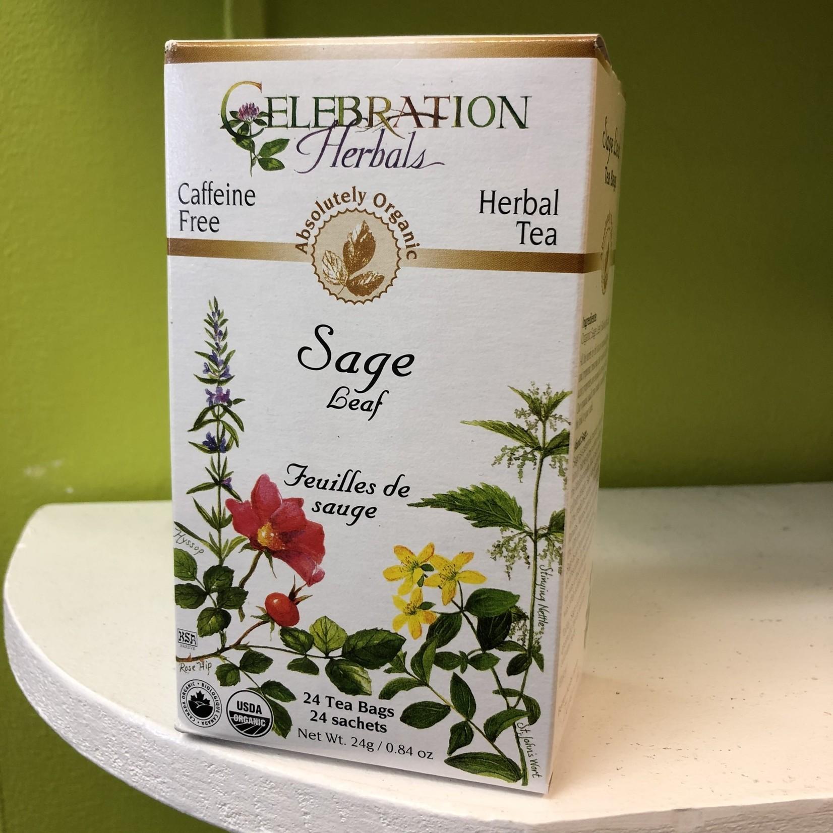 Celebration Herbals Celebration Herbals Sage Leaf 24 Tea Bags