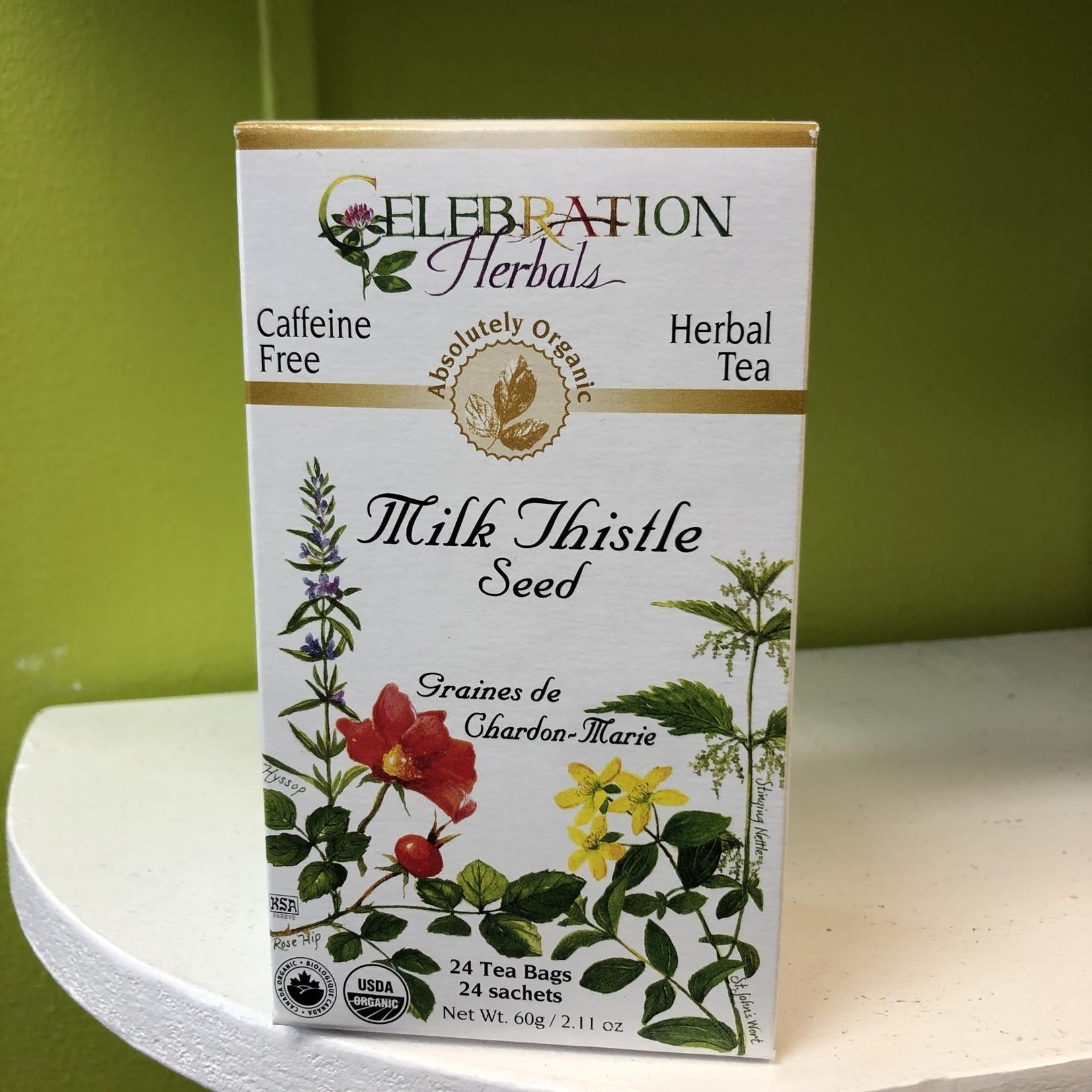Celebration Herbals Celebration Herbals Milk Thistle Tea 24 Tea Bags