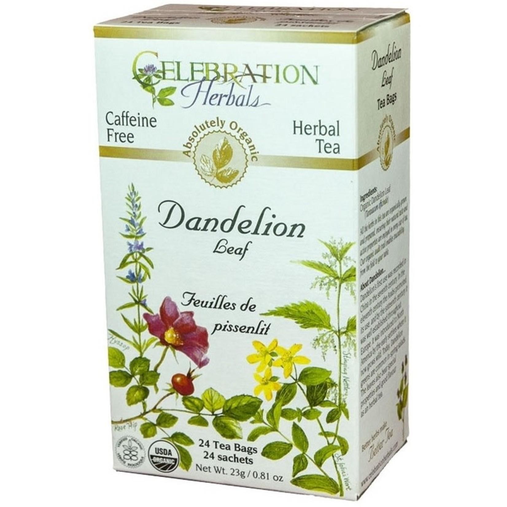 Celebration Herbals Celebration Herbals Dandelion Leaf Tea 24 Tea Bags