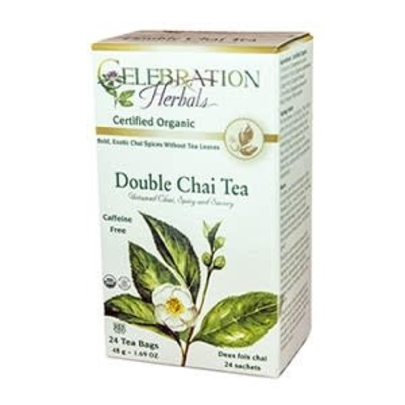 Celebration Herbals Celebration Herbals Double Chai Tea 24 Tea Bags