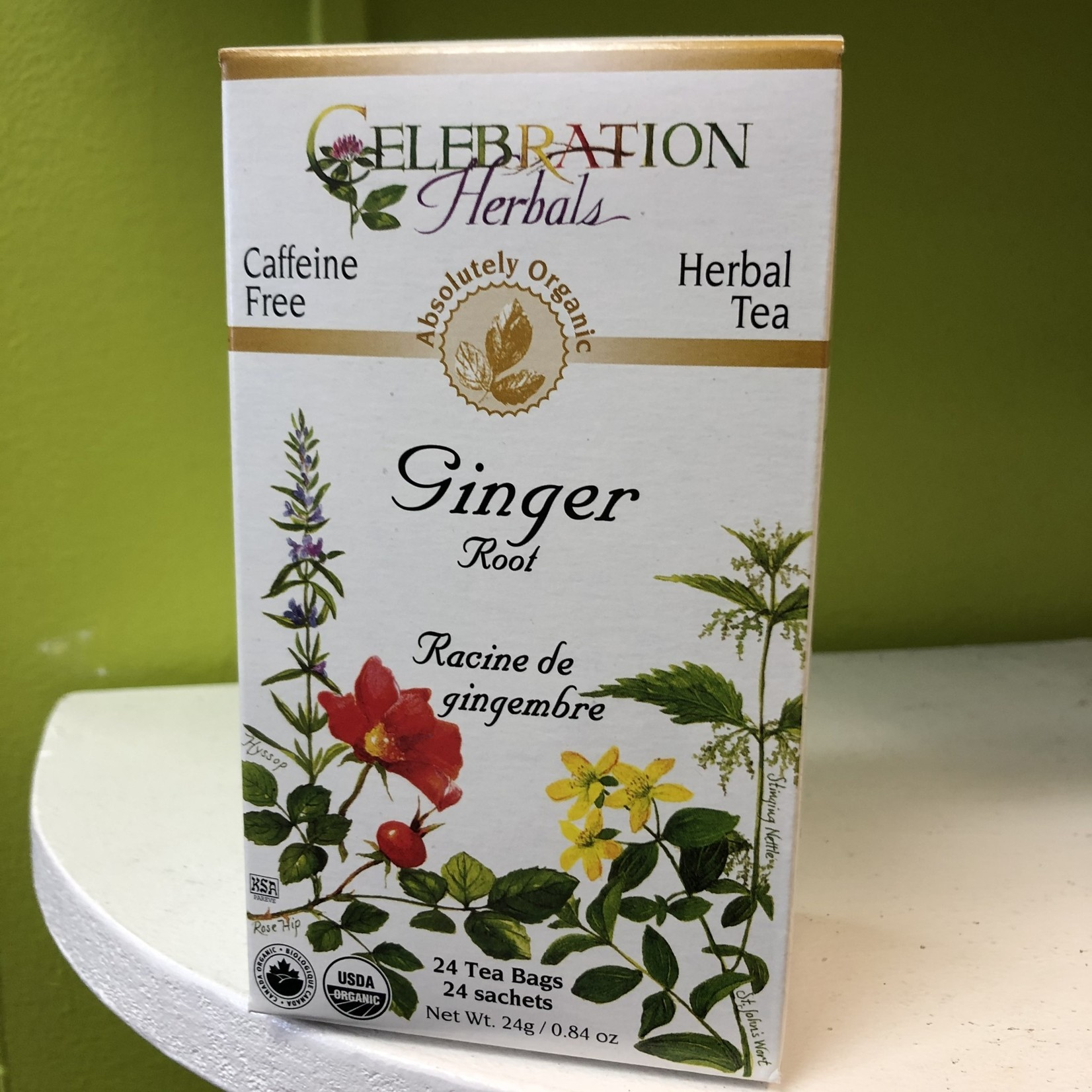 Celebration Herbals Celebration Herbals Ginger Root 24 Tea Bags