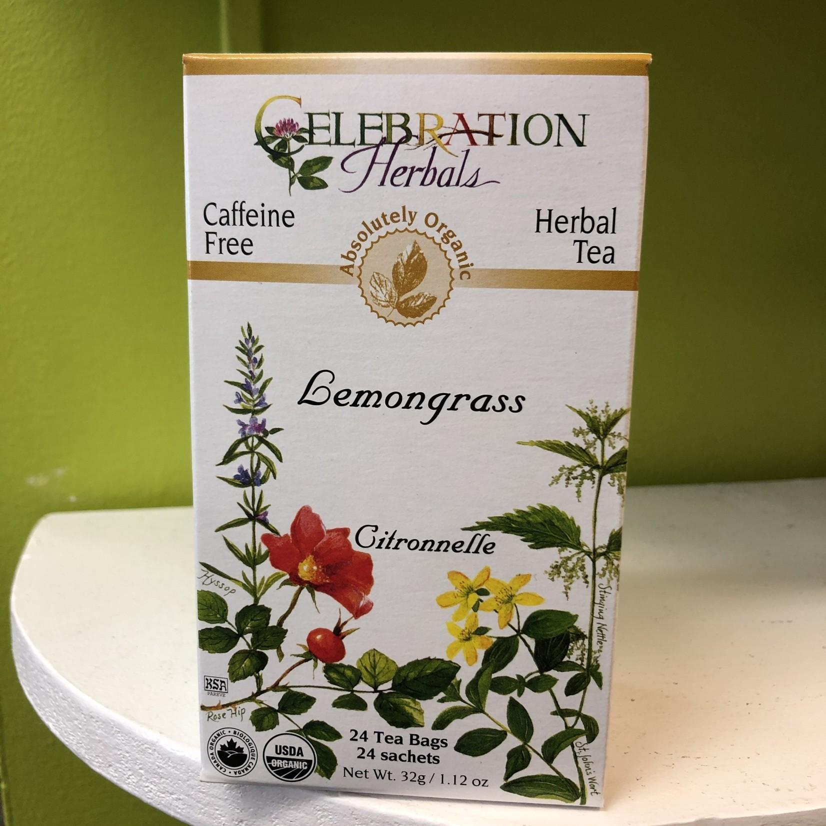 Celebration Herbals Celebration Herbals Lemongrass Tea 24 Tea Bags