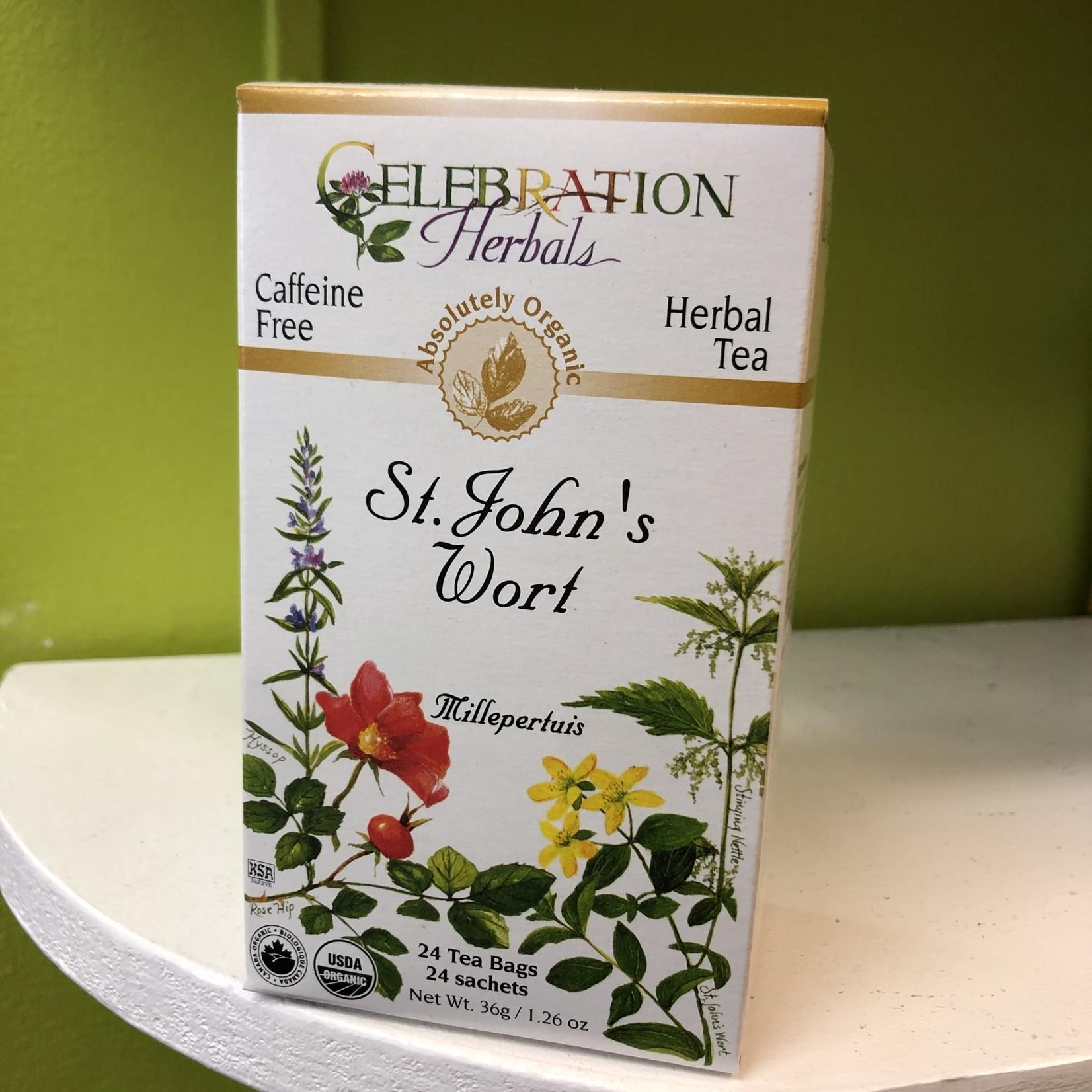 Celebration Herbals Celebration Herbals St. John's Wort 24 Tea Bags