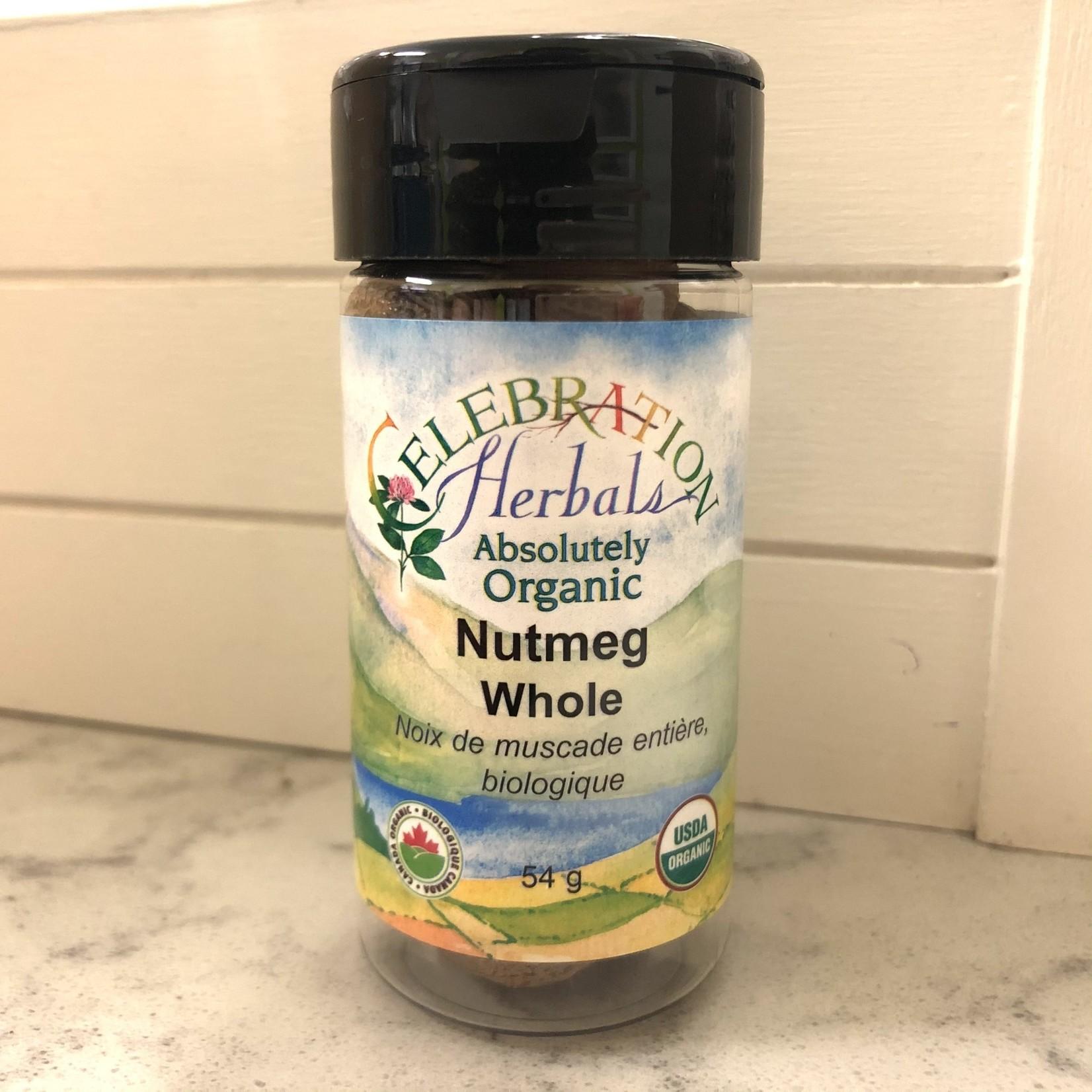 Celebration Herbals Celebration Herbals Whole Nutmeg 54g