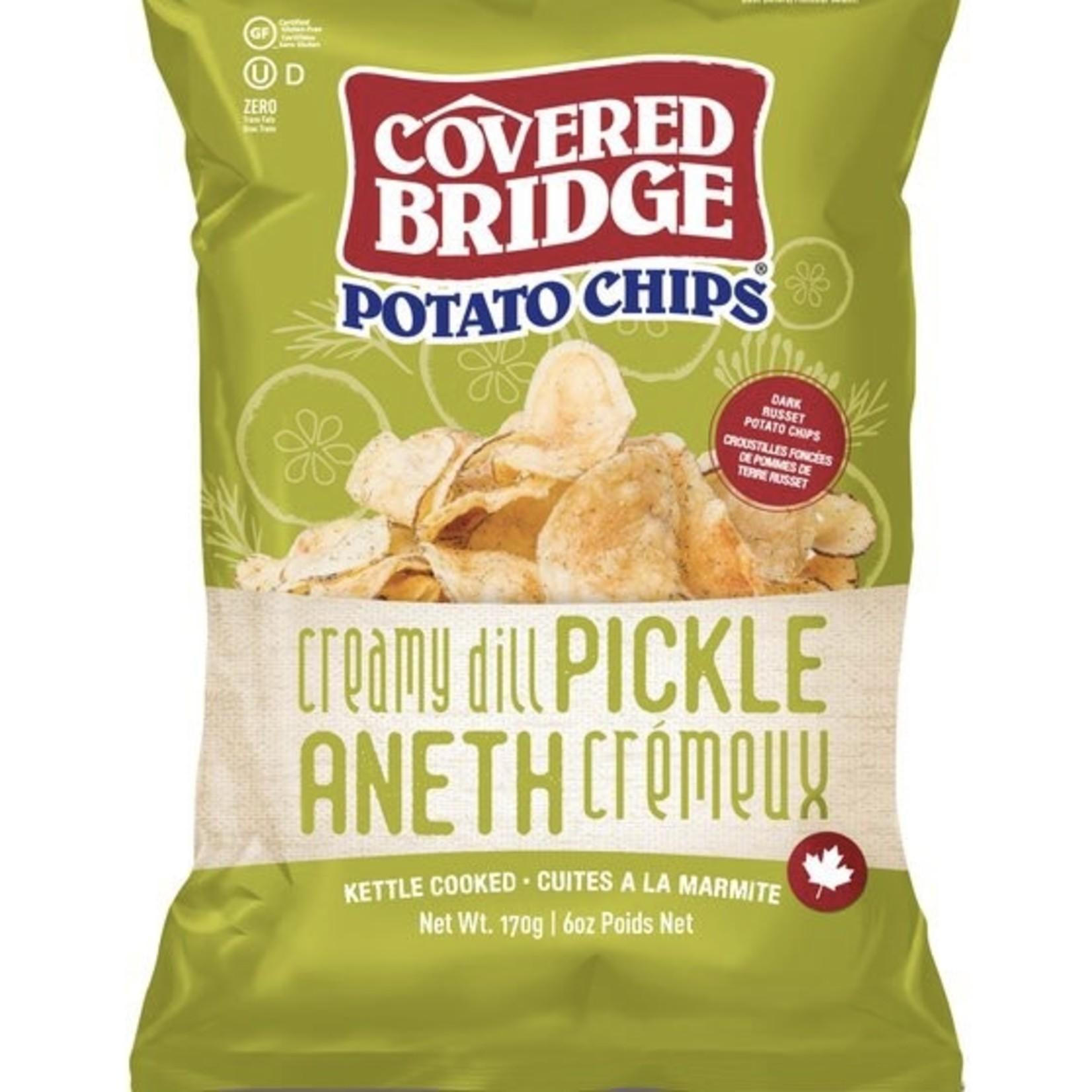 Covered Bridge Covered Bridge Creamy Dill Pickle Potato Chips