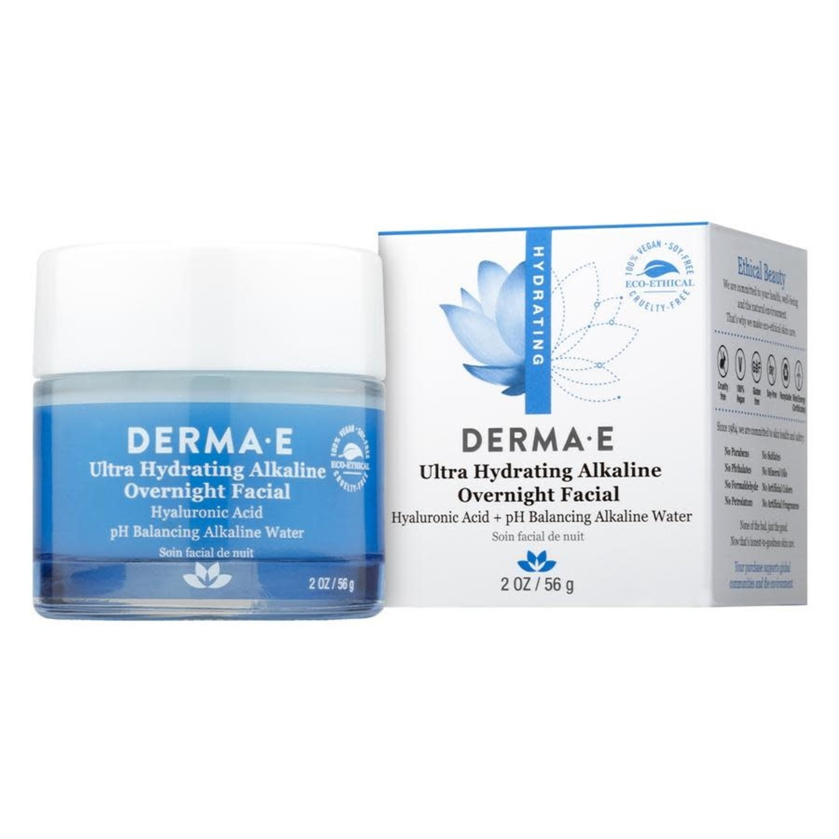 Derma E Derma E Ultra Hydrating Alkaline Overnight Facial 56g