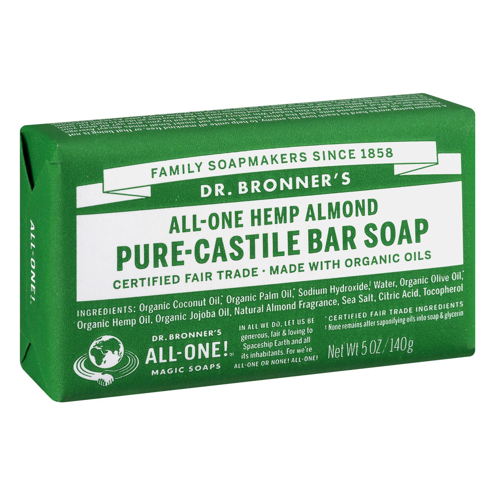 Dr. Bronner's Dr. Bronner's Almond Bar Soap