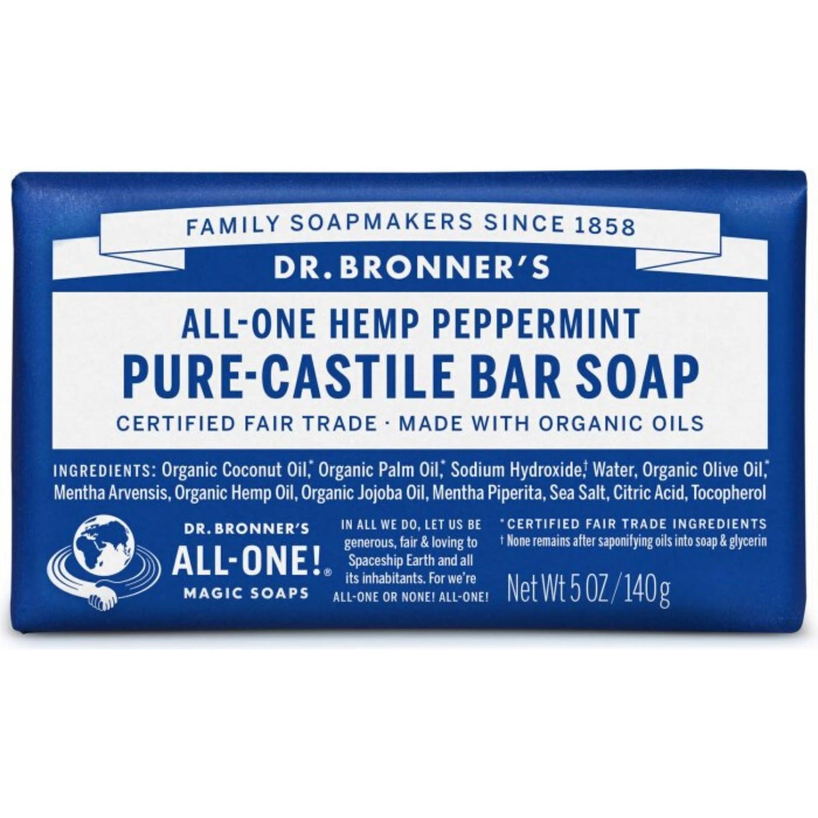 Dr. Bronner's Dr. Bronner's Peppermint Bar Soap