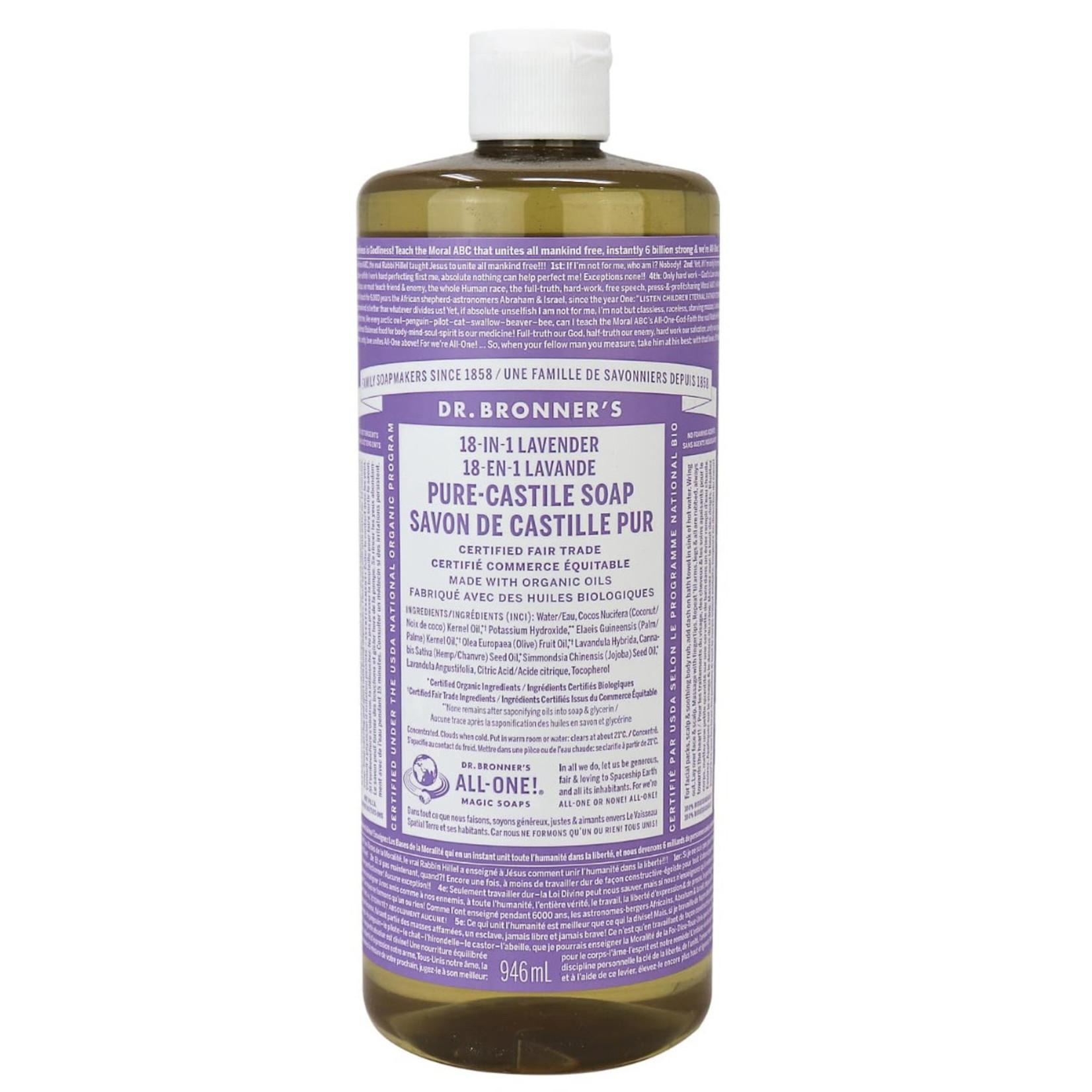Dr. Bronner's Dr. Bronner's Lavender Castile Soap 946ml