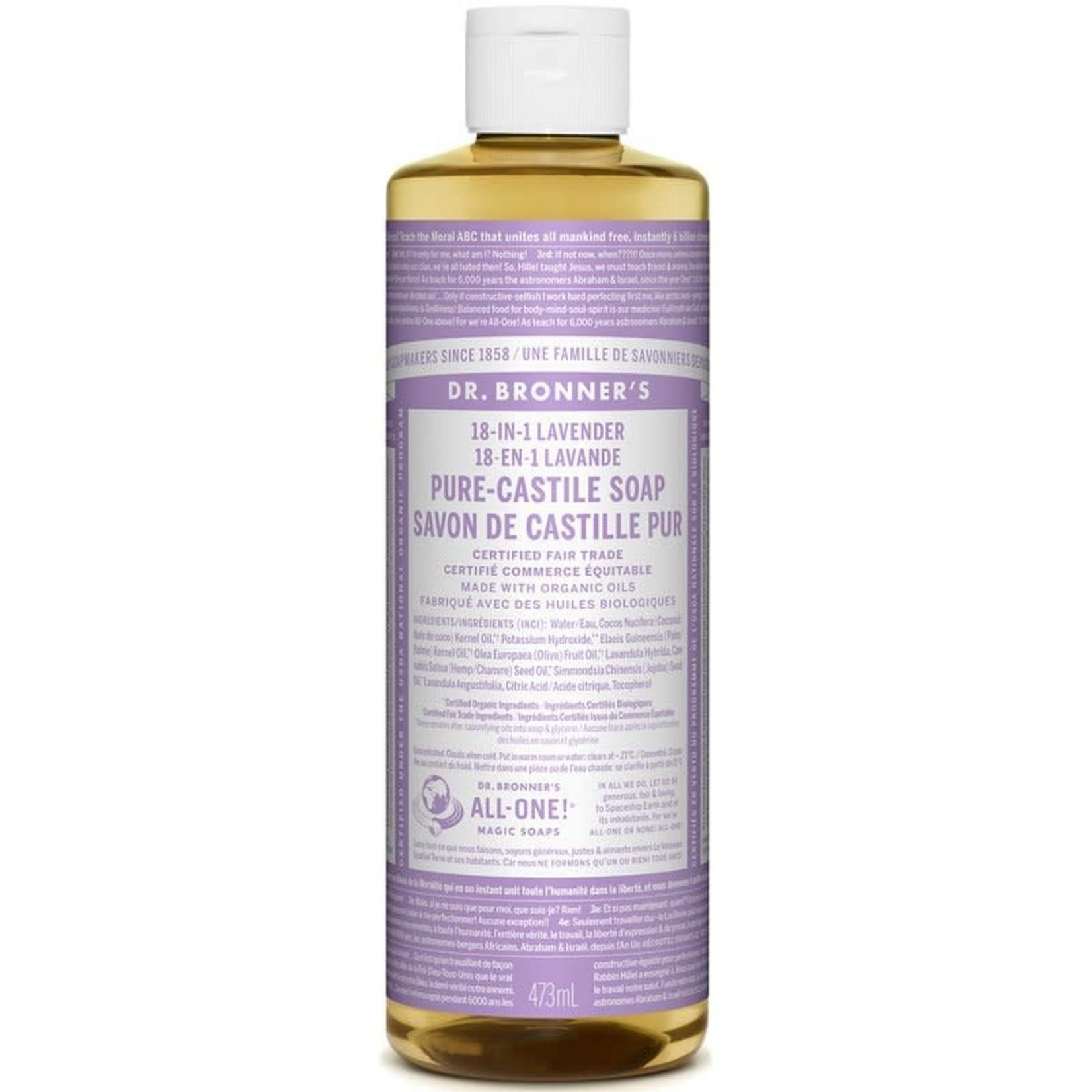 Dr. Bronner's Dr. Bronner's Lavender Castile Soap 473ml