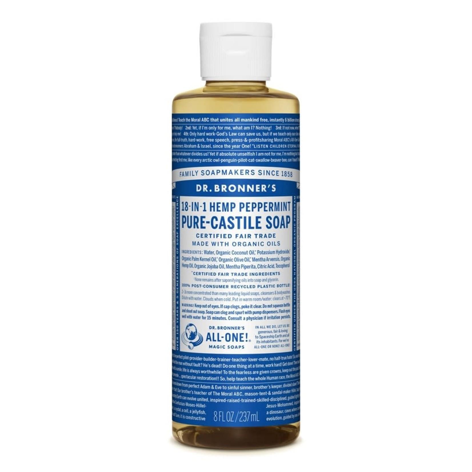 Dr. Bronner's Dr. Bronner's Peppermint Castile Soap 237ml
