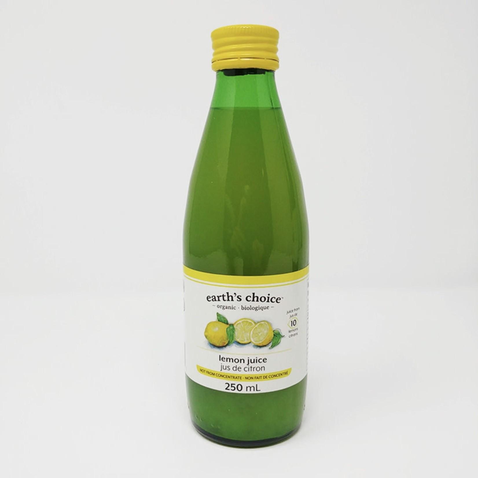 Earth's Choice Earth's Choice Organic Lemon Juice 250ml