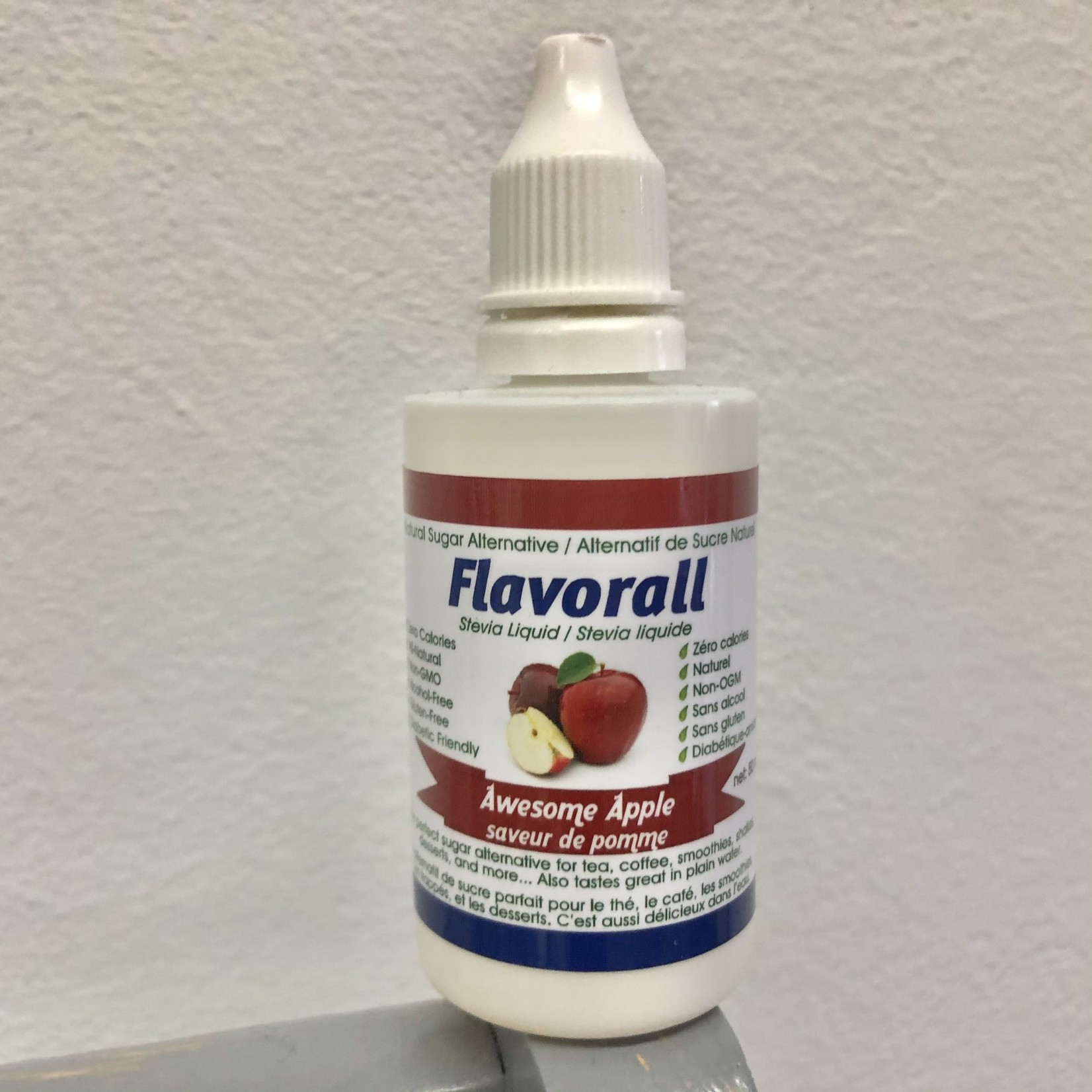 Flavorall Flavorall Stevia Liquid 50ml - Awesome Apple