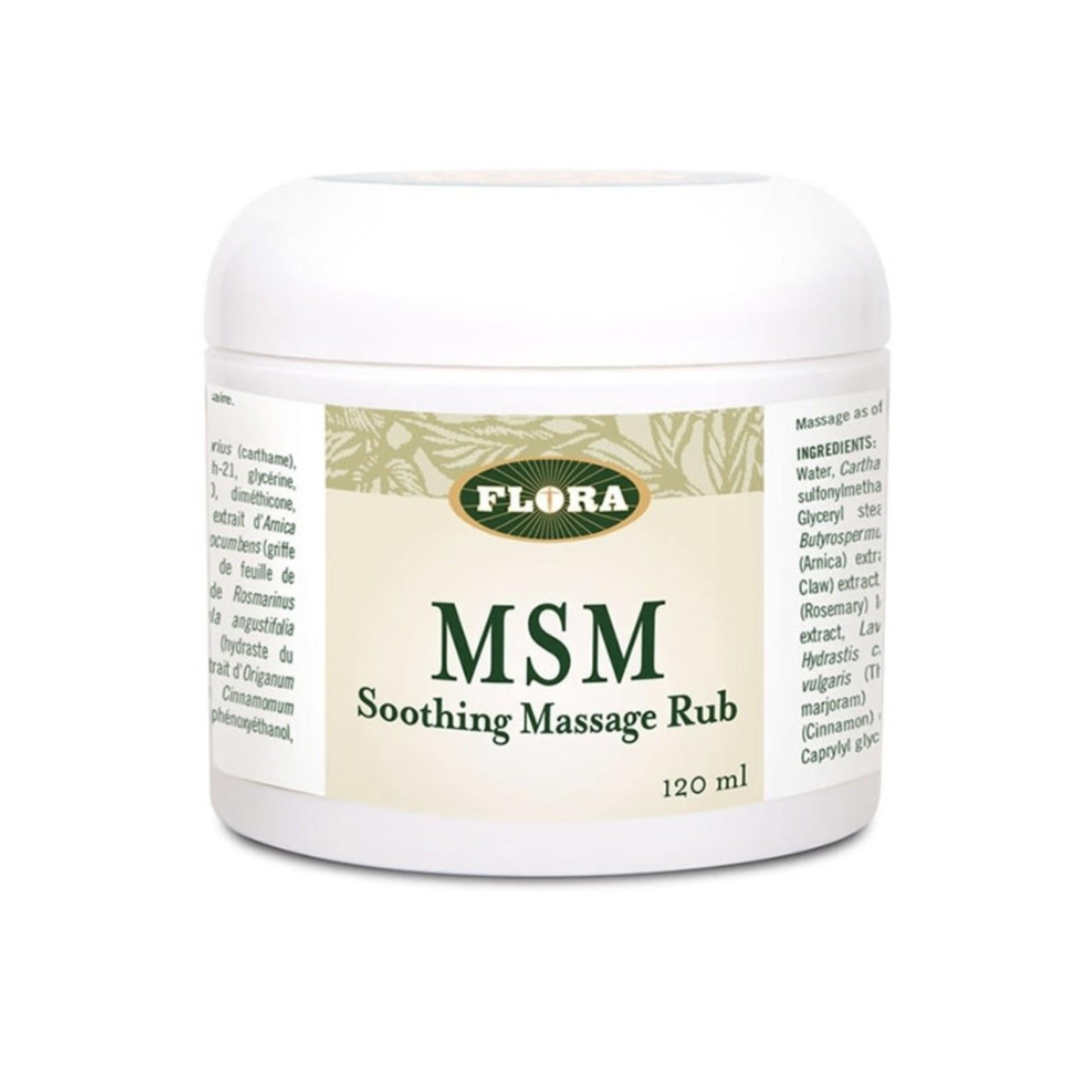 Flora Flora MSM Massage Rub 120ml