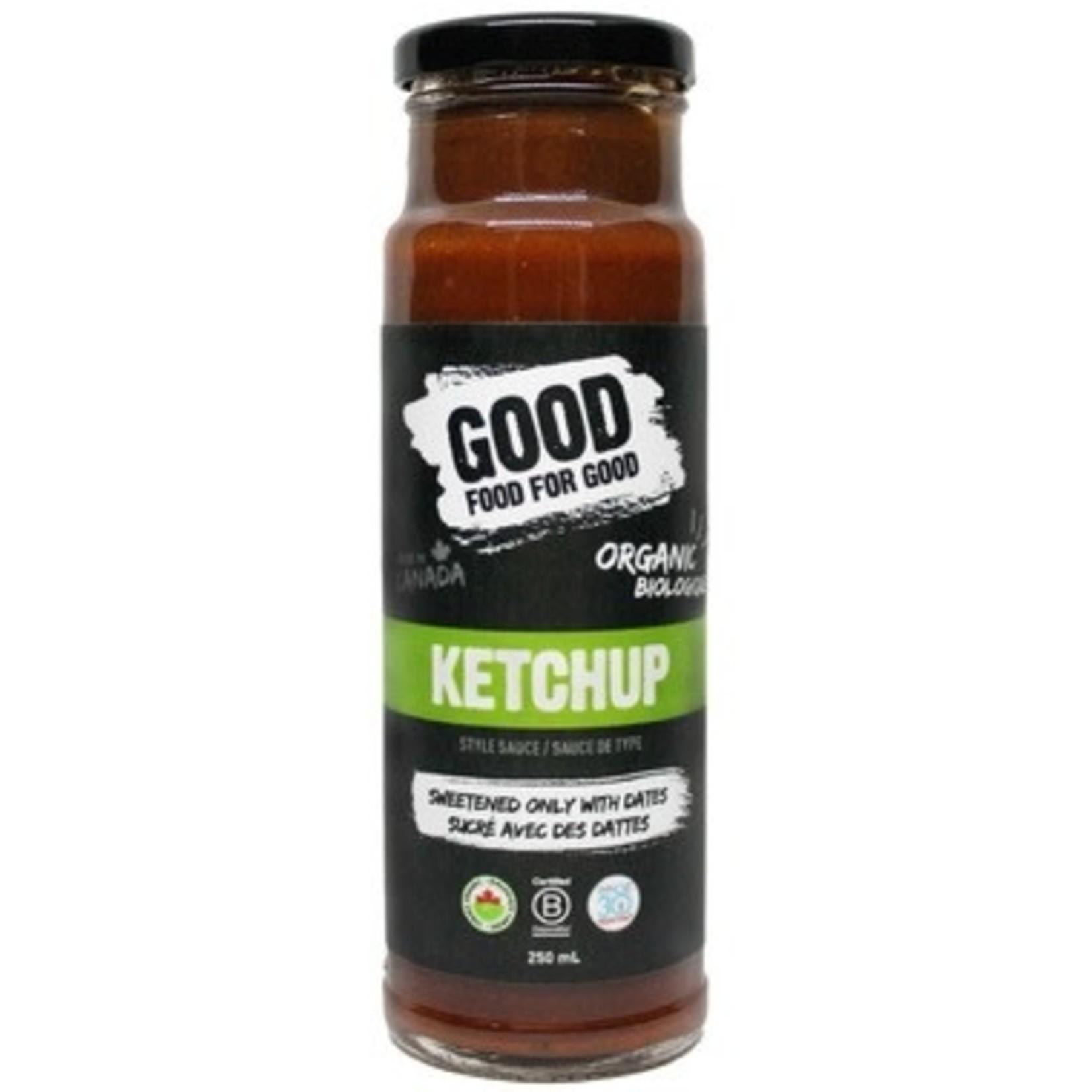 Good Food for Good Good Food For Good Ketchup 250ml