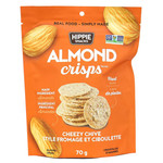 Hippie Snacks Almond Crisps - Cheezy Chive