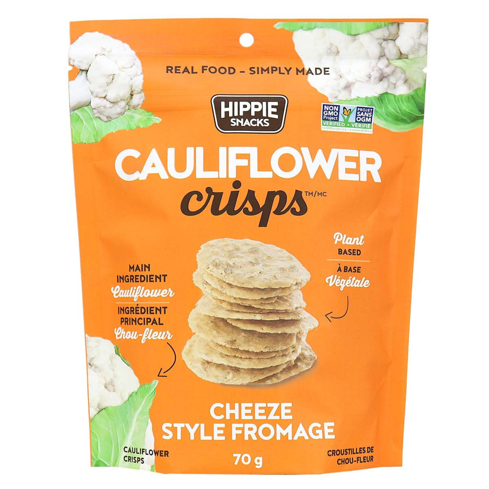 Hippie Snacks Cauliflower Crisps - Cheeze Style