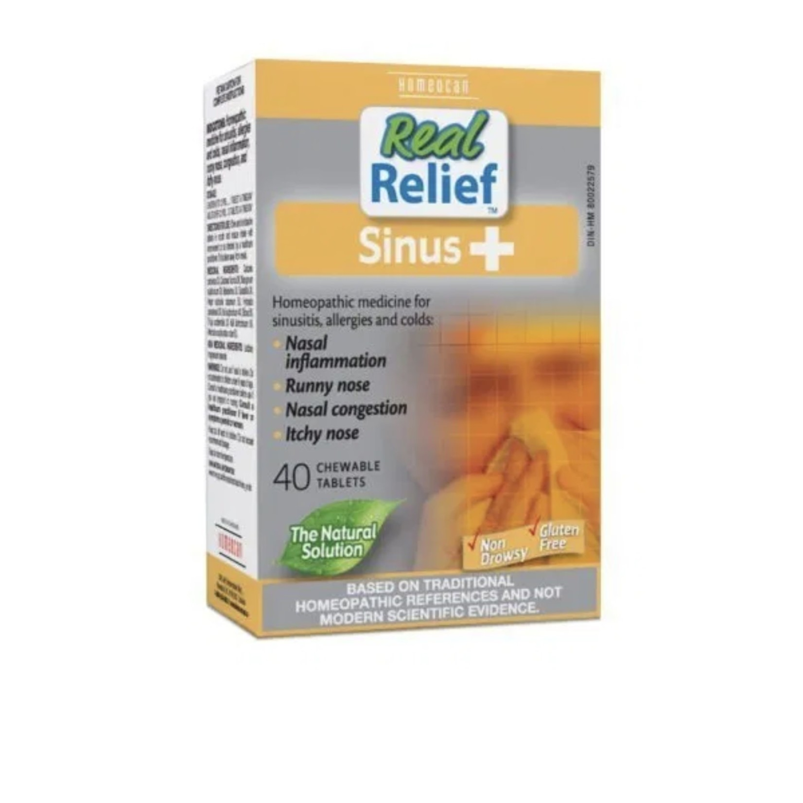 Homeocan Homeocan Real Relief Sinus+ 40 tabs