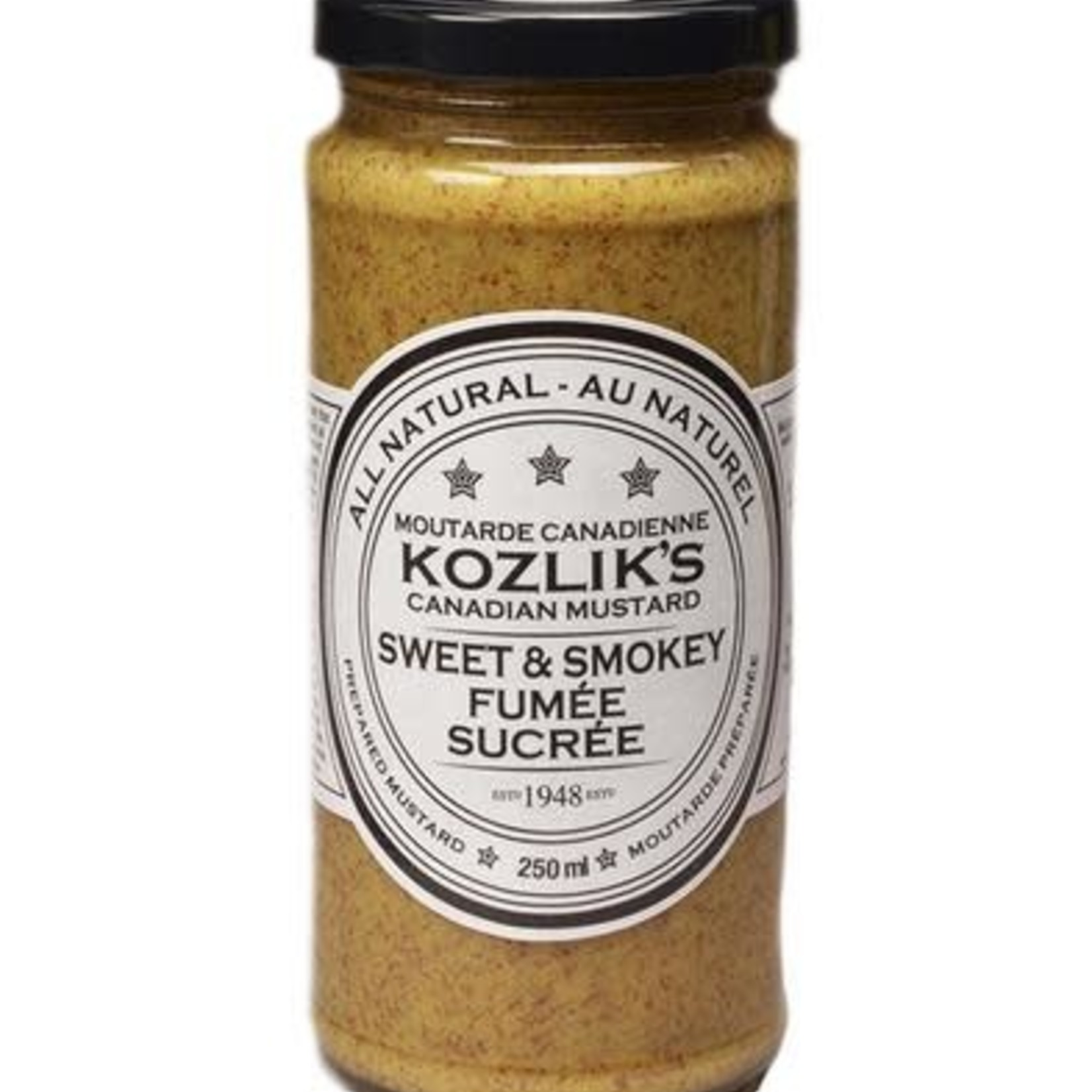 Kozlik's Kozlik's Sweet & Smokey Mustard 250 ml