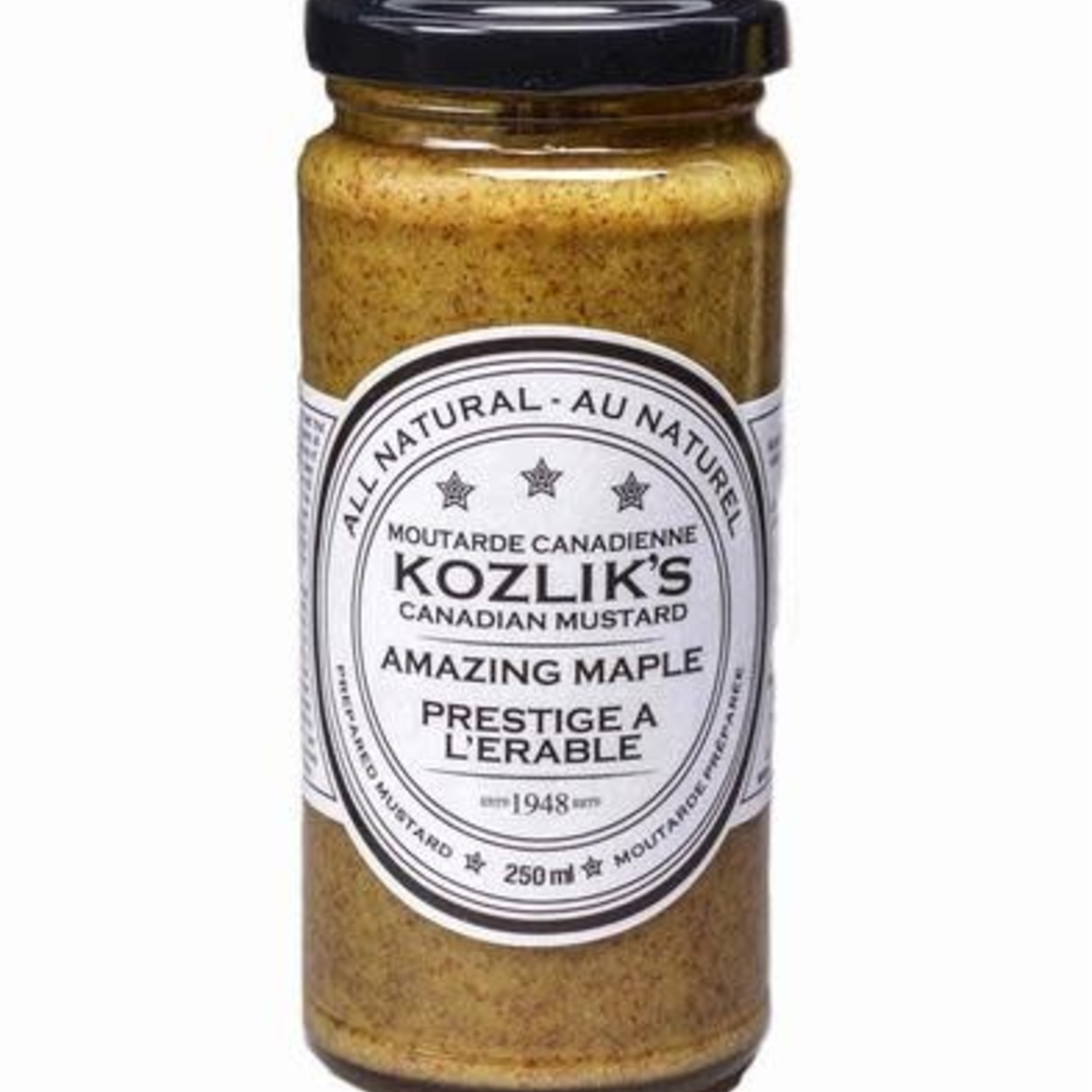 Kozlik's Kozlik's Amazing Maple Mustard 250ml