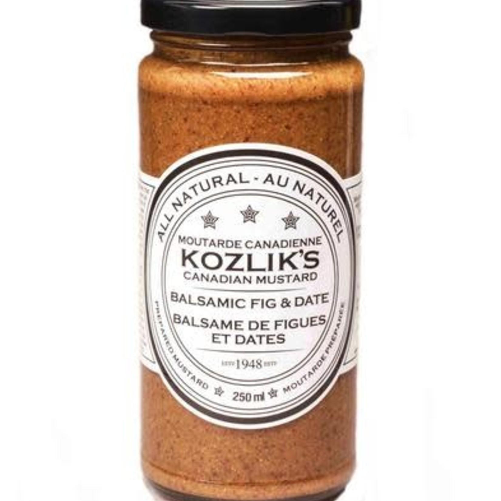 Kozlik's Kozlik's Balsamic Fig & Date Mustard 250ml