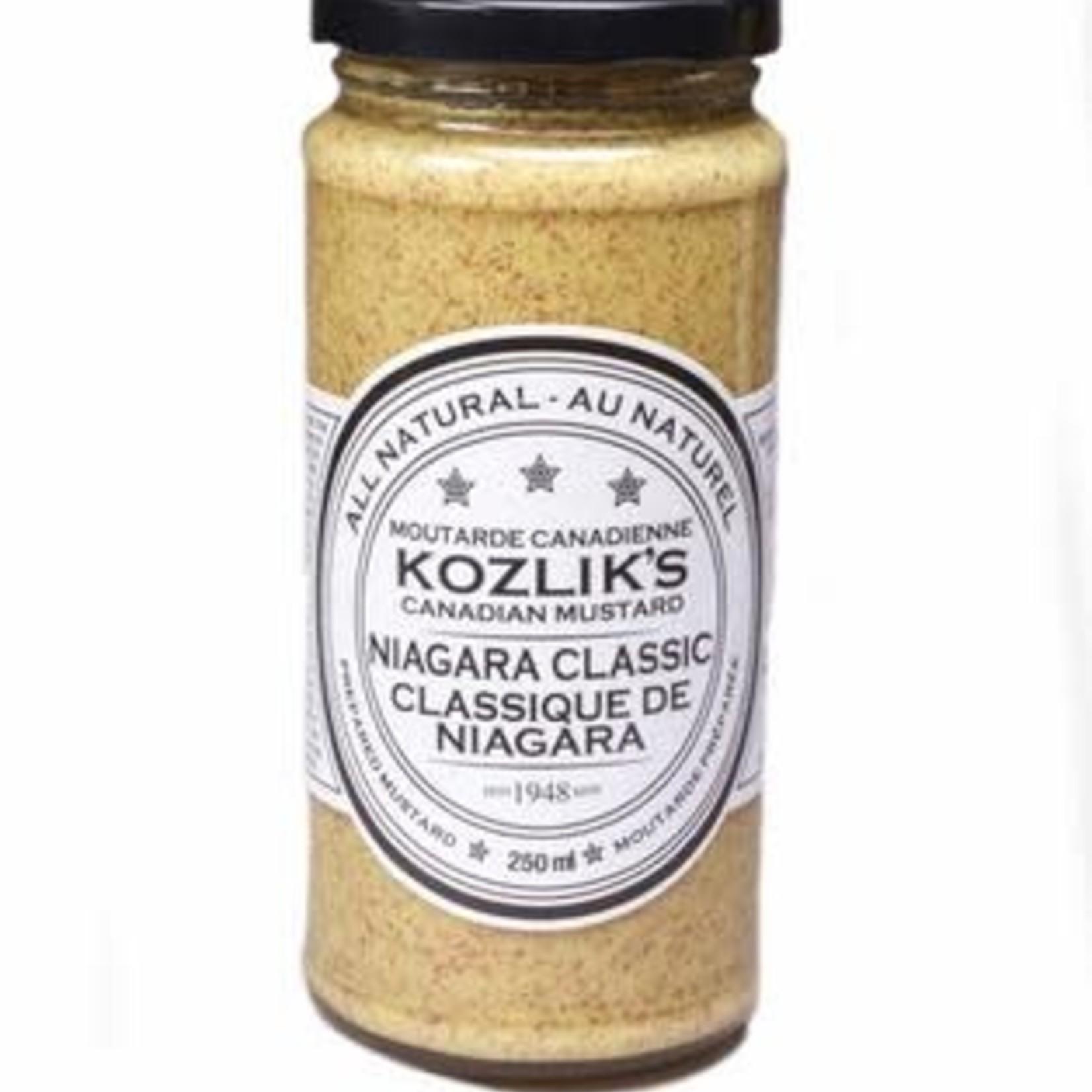 Kozlik's Kozlik's Niagara Classic Mustard 250ml