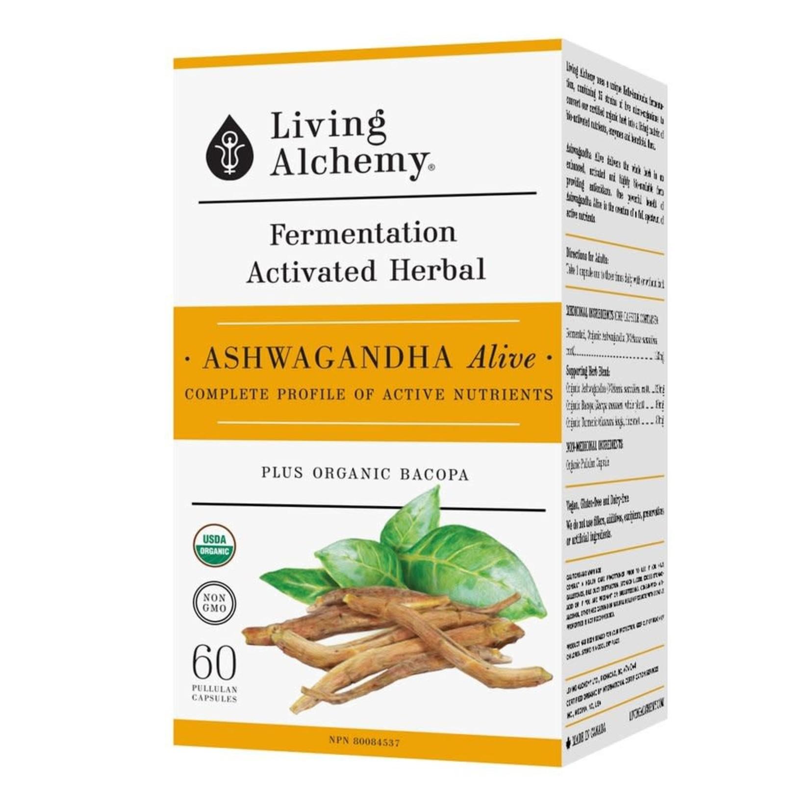 Living Alchemy Living Alchemy Ashwagandha 60 caps