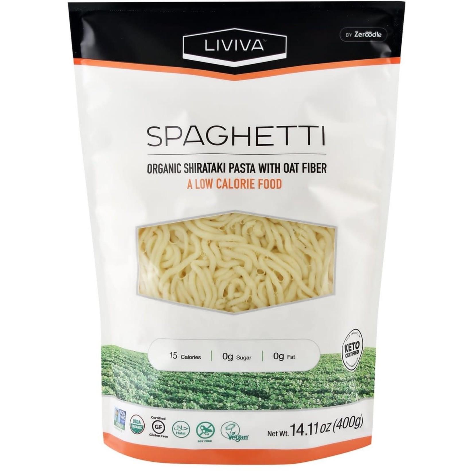 Liviva Liviva Shirataki Spaghetti with Oat Fiber